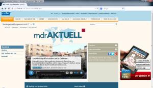 MDR aktuell 12.07.2014, 19:30 Uhr (2)