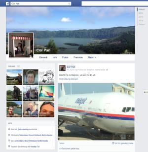 Cor Pan  facebook am 24. Juli 2014
