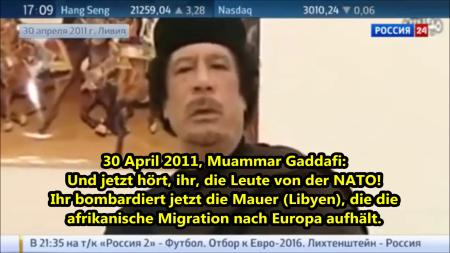 Die Prophezeiung von Muammar Gaddafi an Europäer Ihr seid Idioten 1