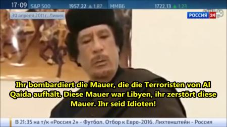 Die Prophezeiung von Muammar Gaddafi an Europäer Ihr seid Idioten 2
